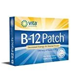 Vitamin B12 Patch   Extra Strength VIT B12 Patches   Men/Women   Boost Energy, Focus, Memory & Metabolism 1 Month Supply   Vita Sciences Powerful B-12 Patch