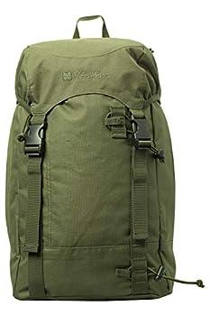 Mountain Warehouse High 20L Backpack - Durabe Winter Rucksack Green
