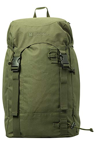 Mountain Warehouse High 20L Backpack - Durabe Rucksack -For Travelling, Backpacking Trips & Walking Green
