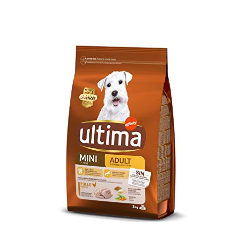 Ultima Pienso Perros Mini Adulto Pollo - 3000 gr
