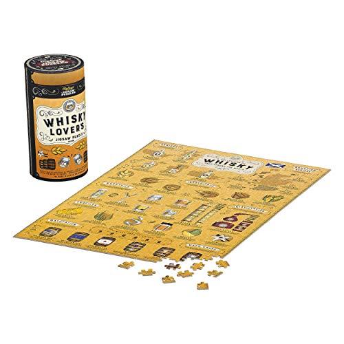 Ridley's Games JIG042 Lovers Jigsaw Puzzle für Whisky-Liebhaber, gelb
