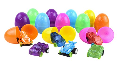 Kangaroo Easter Eggs with Toy Cars...