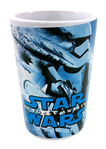 Star Wars Storm Trooper Splatter Collection Glass, Ceramic