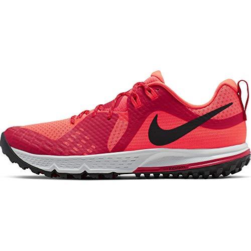Nike Air Zoom Wildhorse 5 Men's Running Shoe (Bright Crimson/Black, Numeric_10)