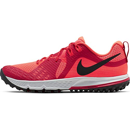 Nike Mens Air Zoom Wildhorse 5 Sz 11 Mens Trail Running Bright Crimson/Black Shoes