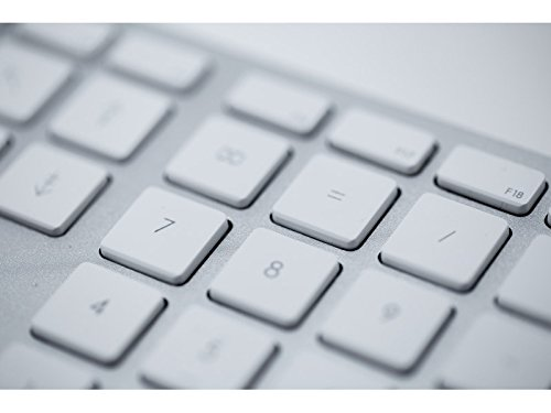 LMP–English Keyboard (UK) with numeric keypad, Aluminium Top Cover and 2USB Ports–For MAC