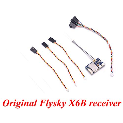 Xiangtat Flysky FS-X6B Receiver 6 CH 2.4G i-Bus PPM PWM Receiver for AFHDS i10 i6s i6 i6x i4x Transmitter