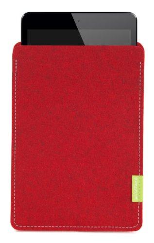 WildTech Sleeve für Medion LifeTab S8312 Hülle Tasche - 17 Farben (Made in Germany) - Kirschrot