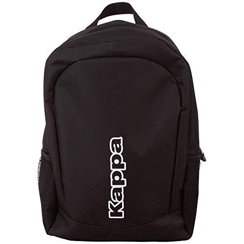 Kappa Tepos Backpack 705143-19-4006; Unisex Backpack; 705143-19-4006; Black; One Size EU (UK)