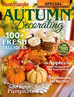 country sampler autumn decorating magazine 2019 Super stylish pumpkins (93)