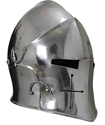 The New Antique Store Casco da combattimento combattimento Barbuta medievale svasato funzionale