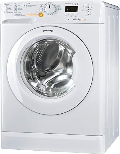 Privileg PWWT X 75L6DE Waschtrockner/EEK A/ 7 kg Waschen / 5 kg Trocknen /1600 UpM/Mengenautomatik/Wasserschutz/Option Extra Spülen/Startzeitvorwahl/Wolle-Programm/Inverter-Motor/Push & Wash + Dry