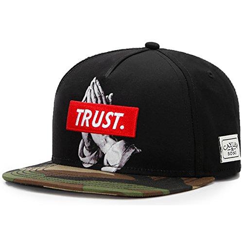 Gorra Trust Snapback by Cayler & Sons gorragorra de beisbol (talla única - negro)