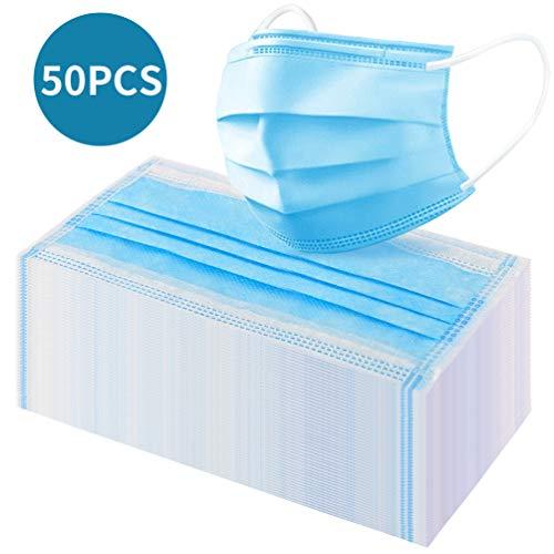 Tuta di garza monouso TRE strati di polvere e ispessimento (50 PCS)