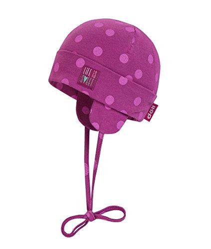 Döll Baby-Mädchen Bindemütze Jersey Mütze, Rot (Baton 7042), 37