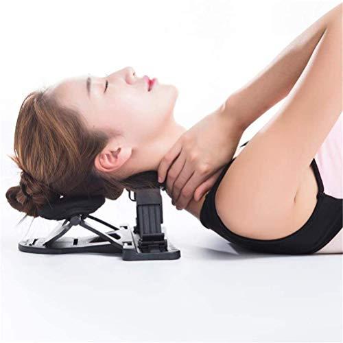LLDKA Aparato de tracción Cervical Almohada Almohada para Cuello tracción Cervical artrosis descompresión Cervical/espinal Alivia la presión sobre el Cuello ortopédico