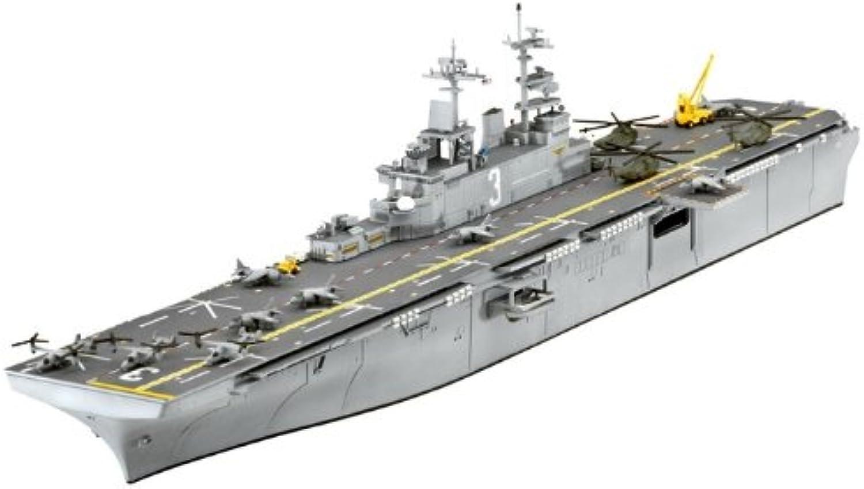 sin mínimo Revell U.S.S. Kearsarge Kearsarge Kearsarge LDH-3 1 700 Naval Ship Assembly Kit - maquetas de Barcos, Botes y submarinos (1 700, Naval Ship, U.S.S. Kearsarge LDH-3, Assembly Kit, De plástico  venta con descuento
