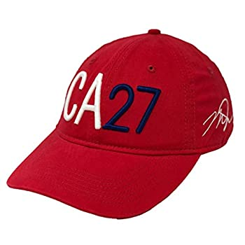 Mike Trout CA27 Dad Hat  Red