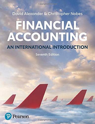 Financial Accounting, 7th Edition: An International Introduction