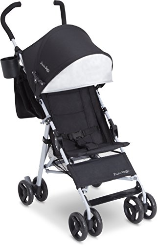 Jeep North Star Stroller – Lightweight Stroller Features Parent Organizer, Cup Holder and Cool-Climate Mesh Seat, Black with Grey