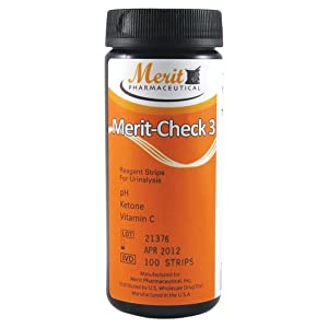 buy  Merit-Check 3, Reagent Strips for Urinalysis: ... Diabetes Care