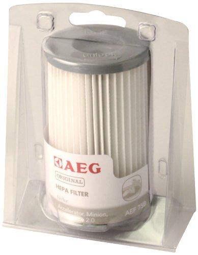 AEG AEF 75 B Hygienefilter waschbar für ACCELERATOR AAC 670..., AAC 6805...; MINION ATI 7600...7699 ; ErgoEasy ATF76…, VAMPYRETTE 2.0 AS 203