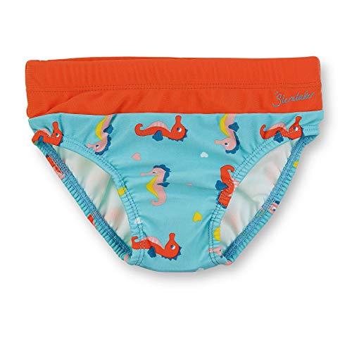 Sterntaler Kinder Mädchen Badehose, UV-Schutz 50+, Alter: 4-6 Jahren, Größe: 110/116, Meeresblau