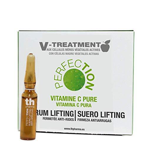 Thader TH Pharma Suero Lifting/Firmeza Anti arrugas con Vitamina C Pura V-Treatment Anti-Edad para Recuperar Firmeza y Elasticidad/Suero Facial Antiarrugas, 15x2ml Nombre o título del artículo