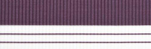 Doppelrollo mit Blende – Doppel Rollo – Kettenzug - 120 cm (Breite) x 180 cm (Länge) in Aubergine