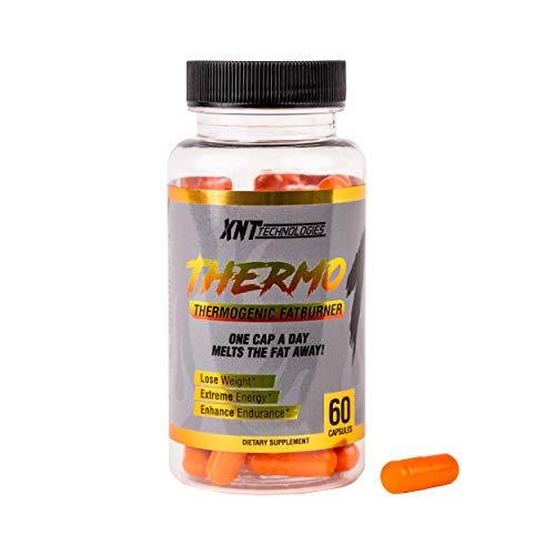 XNT-Technologies Thermo 1 The One Capsule Daily Thermogenic Fatburner to Aid in Weight Loss, Energy, and Endurance, 60 Capsules/60 Servings