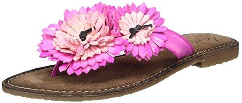 MUSTANG Damen 3125-801-504 Zehentrenner, Pink (504 Pink), 37 EU