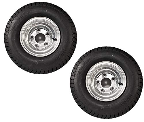 Kenda Loadstar 2 215/60-8 LRC Bias Trailer Tires & Wheels Galvanized 5-4.5 18.5x8.50-8