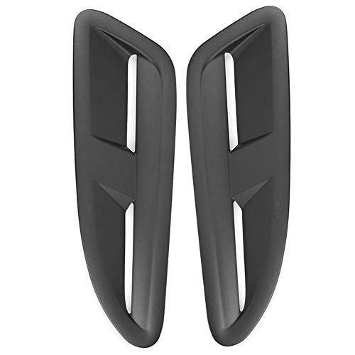 Bonnet Vents,Car Bonnet Vent,Engine Hood Vents,2PCS Bonnet Air Vents for Jaguar XKR Style Car Refitting Fit for MZA 3 MX5 RX8