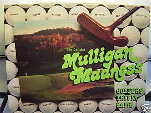 Mulligan Madness Golfers Trivia Game (1986) by Orange Alps