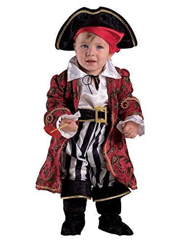 chiber Disfraces Disfraz Bebe Capitán Pirata (18-24 Meses)