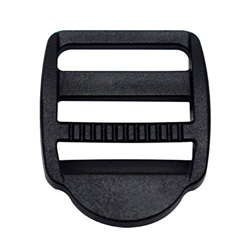 12 Pack 3/4 inch Plastic Ladder Slider Adjust Lock Buckles