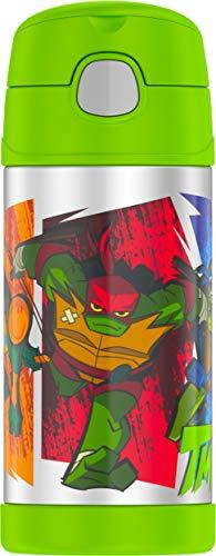 Thermos Funtainer 12 Ounce Bottle, Teenage Mutant Ninja Turtles