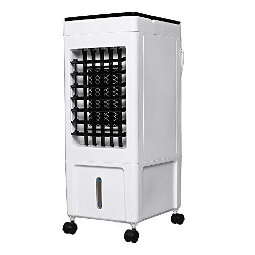 MAZ 8L 220V Haushaltsklimaanlage Mobile Tragbare Fernklimaanlage Klimaanlage Ventilator Befeuchter Kühler Mini Klimaanlage/Weiß