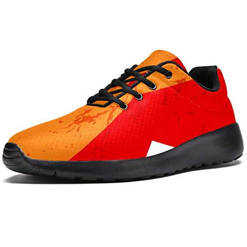 BENNIGIRY Arcoiris Colorido Athletic Trainers Zapatillas Ligeras Calzado Deportivo para Mujer