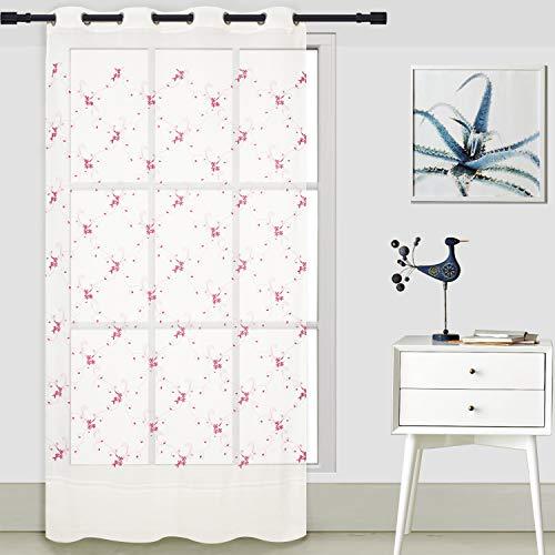 cortinas cortas para salon gris perlado