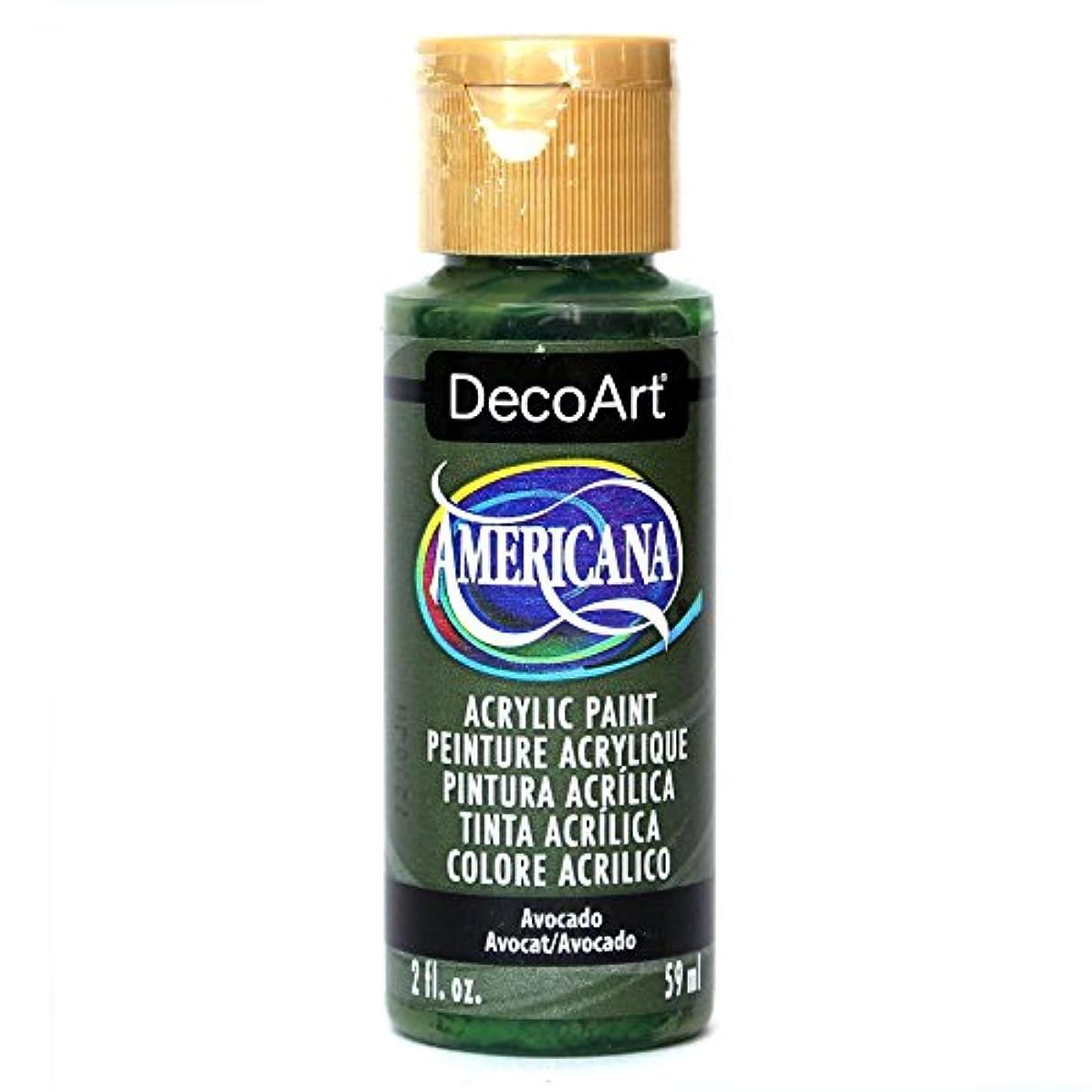 DecoArt Americana Acrylic Paint, 2-Ounce, Avocado
