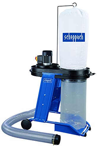 SCHEPPACH HD 12 Absauganlage Absaugung mit 20x Spänesack und Adapter Set | Luftleistung: 1150 m³/h | 230 V | 550W