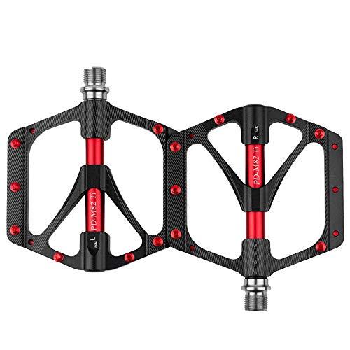 Pedal de Bicicleta MTB aleación de Titanio de rodamiento de