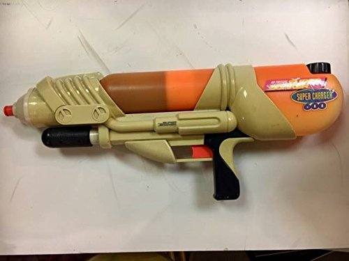 SUPERSOAKER Vintage Super Soaker Super Charger 600 by Larami Rare Collectible Water Gun