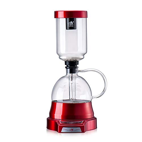 MJYDQ Estilo japonés eléctrica Sifón Café Copas de vacío Maker Maquina de Cafe Goteo...