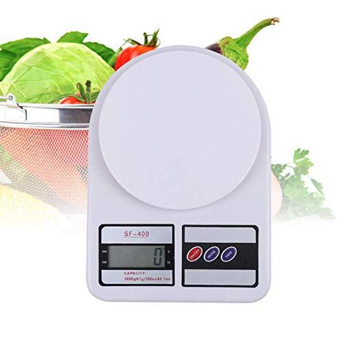 Báscula Cocina,báscula Digital para Alimentos con Capacidad Alta precisión,báscula medición multifunción Digital-1 kg / 0,1 g