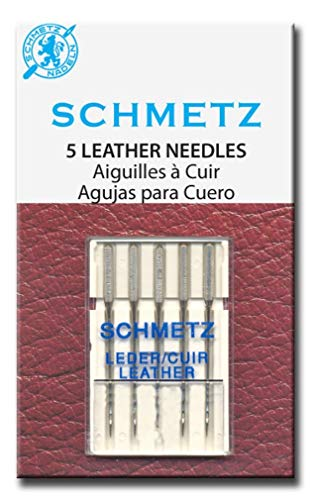Find Bargain 25 Schmetz Leather Needles 130/705 H LL Size 70/10