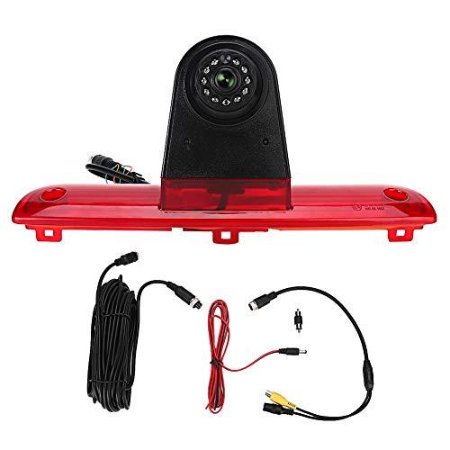 KIMISS Telecamere di parcheggio, Luce freno retromarcia Monitor telecamera 1/3 PC4089 con PAL/NSTC Adatto per Ducato 3 Generazioni 06-18