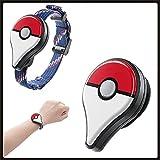 Pokemon Go Plus Auto Catch para Pulsera, Reloj Digital, Bluetooth, Banda De Carga, Interruptor, Accesorio De Juego para Android iOS, Regalos De Cumpleaños para Niños