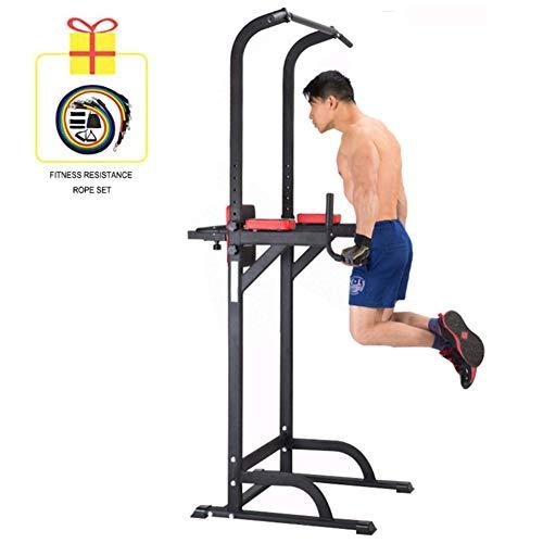 YI\'HUI Sbarra per Trazioni,Stazioni Multifunzioni Fitness Orizzontale Bar Coperto Pull-Up Lombare Attrezzature Attrezzatura Sportiva